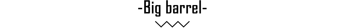 Big barrel banner